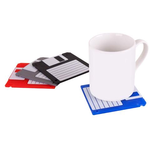 Sous-verres disquettes