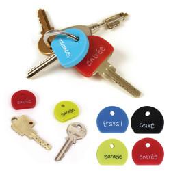 Marqueurs de clés