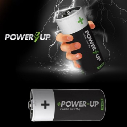 Mug thermos Pile Power Up