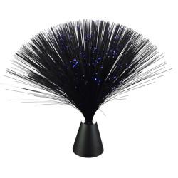 """Lampe fibre optique noire """"Black Magic"""""""