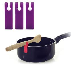 Porte-ustensile pour casserole x3