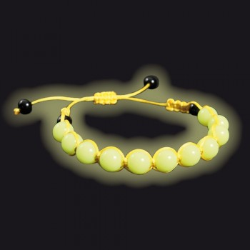 Bracelet Shamballa phosphorescent