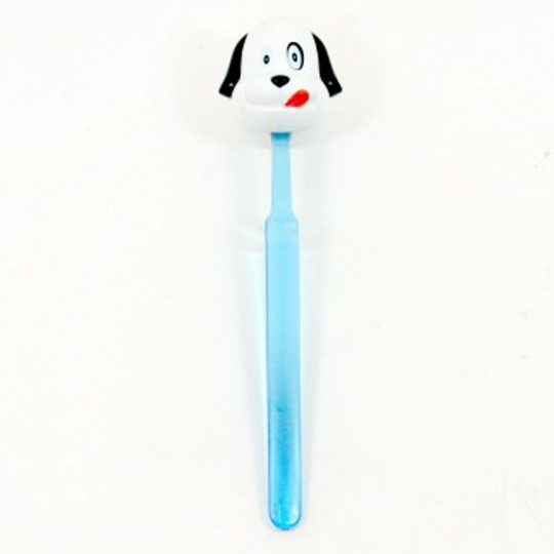 Chien porte-brosse à dents