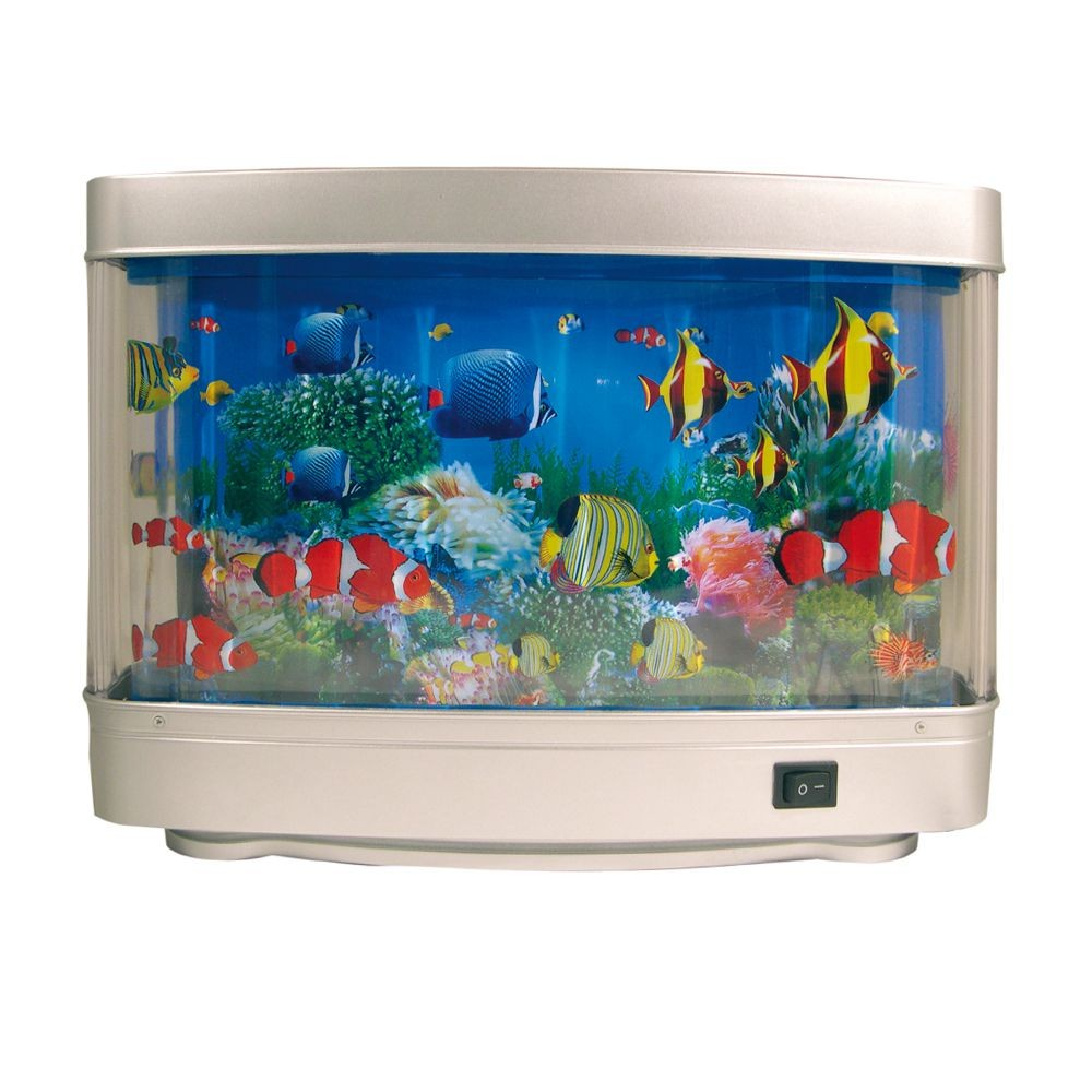 d coration amusante lampe aquarium 15 60. Black Bedroom Furniture Sets. Home Design Ideas