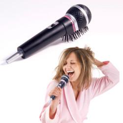 Brosse à cheveux micro