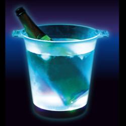 Seau à champagne lumineux LED