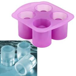 Moule silicone 4 verres de glace liqueur