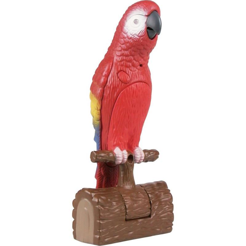 Polly, le perroquet électronique.