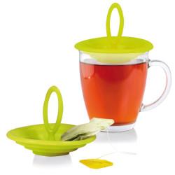 Couvercle repose sachet de thé