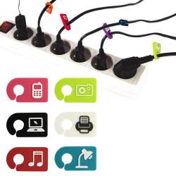 Marqueurs de câbles silicones
