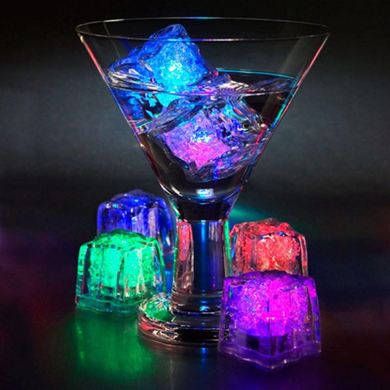 Glaçons LED x4