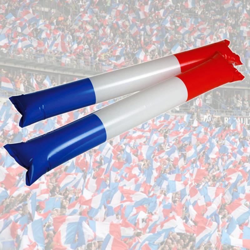 Bâtonnets gonflables pour applaudir France
