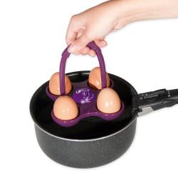 Cuiseur 4 œufs avec indicateur de cuisson