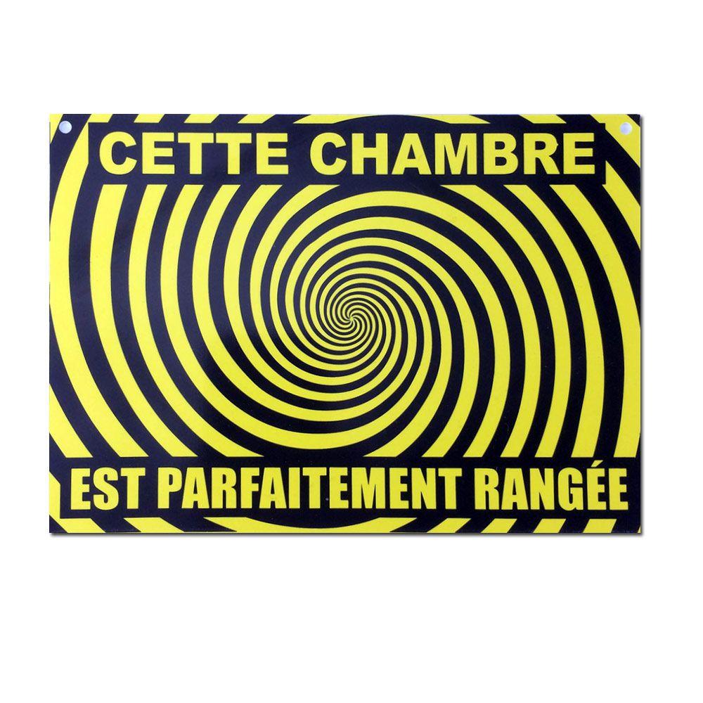 Préférence Plaque de porte Chambre rangée à 3,95 € FS79