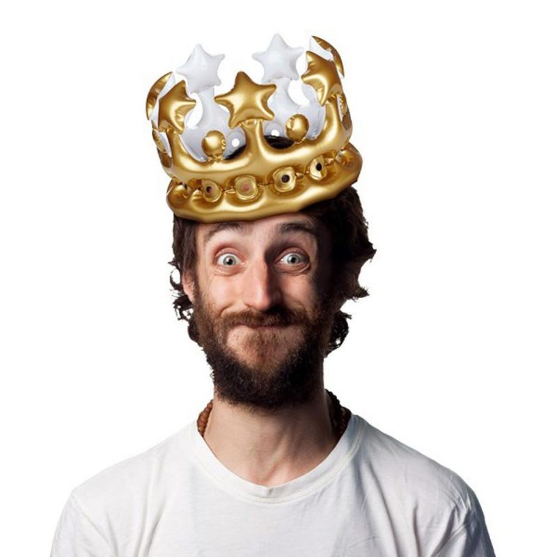 Couronne gonflable Roi d'un jour