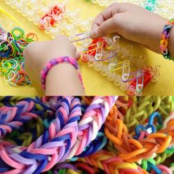 Coffret bracelets élastiques loom bands