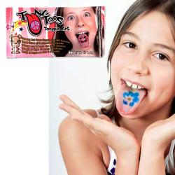 Tatouages de langue pour fille