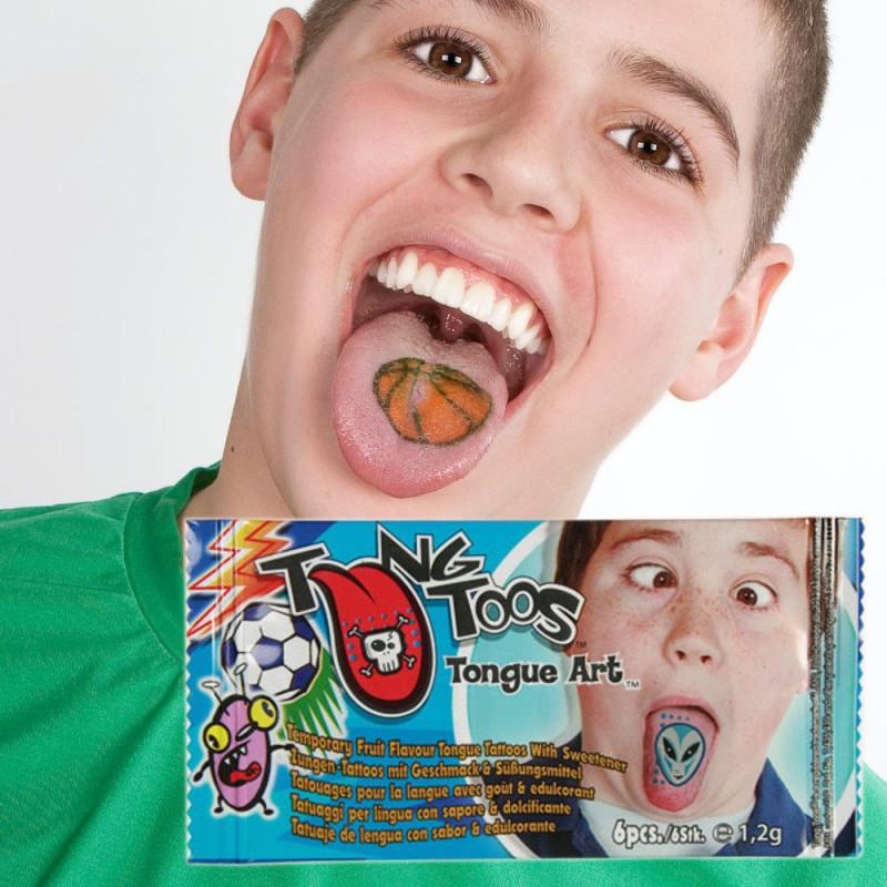 Tatouages de langue pour garçon