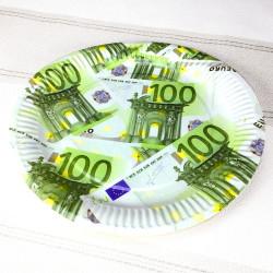 Assiettes en carton 100 euros