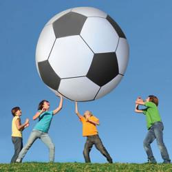 Ballon de foot giga géant