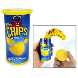 Boîte chips piégée