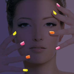 Paillettes néon pour ongles flashy