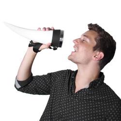 Verre à bière Das Horn corne viking