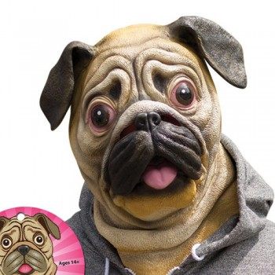 Masque tête de chien Carlin
