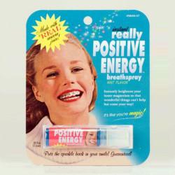 Spray haleine énergies positives
