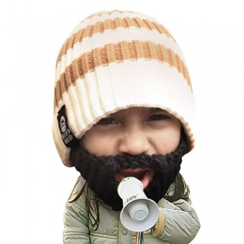 Bonnet barbe enfant