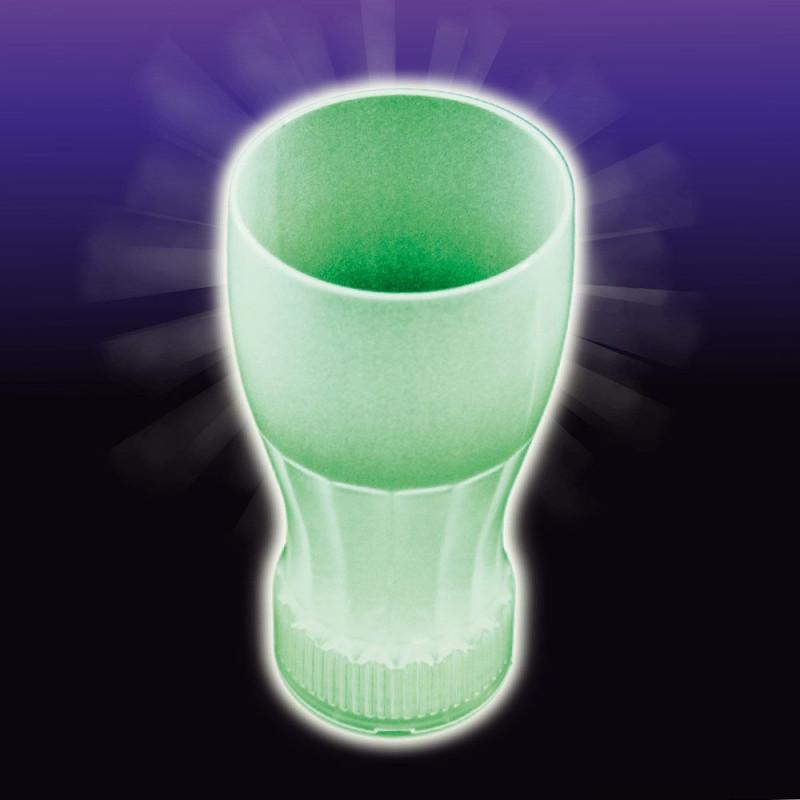 Verre à soda phosphorescent