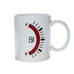 Mug réservoir avec jauge à essence